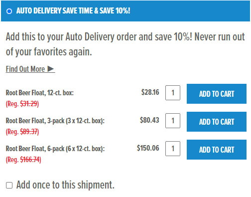 Auto Delivery Benefits