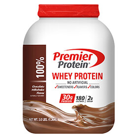 Image of Premier Protein® Chocolate Whey Protein Powder Package