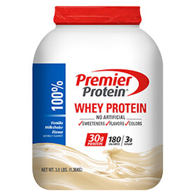Image of Premier Protein® Vanilla Whey Protein Powder Package