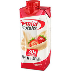 Image of Premier Protein® Strawberries & Cream Shake Package