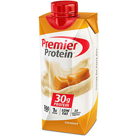 Image of Premier Protein® Caramel Shake Package