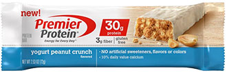 Image of Premier Protein® Yogurt Peanut Crunch Bar Package