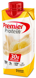 Image of Premier Protein® Bananas & Cream Shake Package