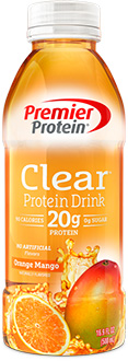 Clear Premier Protein Drink