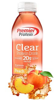 Image of Premier Protein® Peach Drink Package