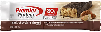 Image of Premier Protein® Dark Chocolate Almond Bar Package
