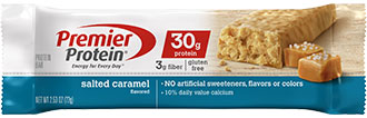 Image of Premier Protein® Salted Caramel Bar Package