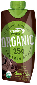 Image of Premier Protein® Organic Chocolate Shake Package