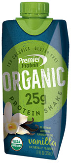 Image of Premier Protein® Organic Vanilla Shake Package