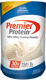 Image of Premier Protein® Vanilla 100% Whey Powder Package