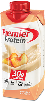 Image of Premier Protein® Peaches 'n Cream Shake Package