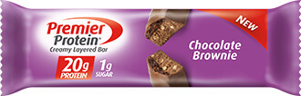 Image of Premier Protein® Chocolate Brownie Bar Package