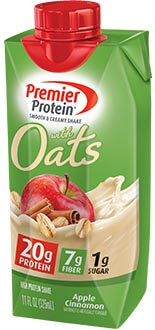 Image of Premier Protein® 20g Protein & Oats Shake, Apple Cinnamon Package
