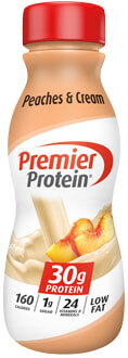 Image of Peaches and Cream, 11.5 fl. oz. (12 Count) Package