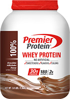 Image of Premier Protein® Chocolate Whey Protein Powder packaging
