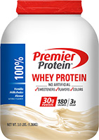 Image of Premier Protein® Vanilla Whey Protein Powder packaging