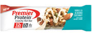 Image of Premier Protein® Crunchy Nut Bar, Vanilla Almond Coconut, 1.65 oz. (10 Count) Package