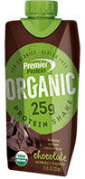 Premier Protein® Organic Chocolate Shake [prem-715375.jpg] - Click for More Information