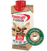 Image of Premier Protein® Café Latte packaging