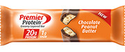 Premier Protein® Chocolate Peanut Butter Bar - Click for More Information