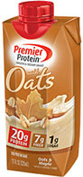 Image of Premier Protein® 20g Protein & Oats Shake, Oats and Maple Package