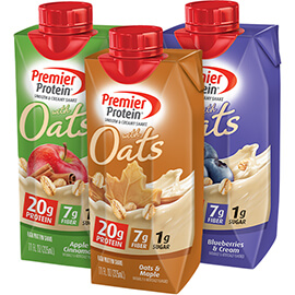 Image of Complete Protein Shake with Oats Variety 36-Pack Package